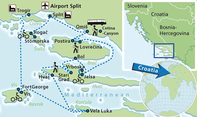 Family Cruise Croatia
