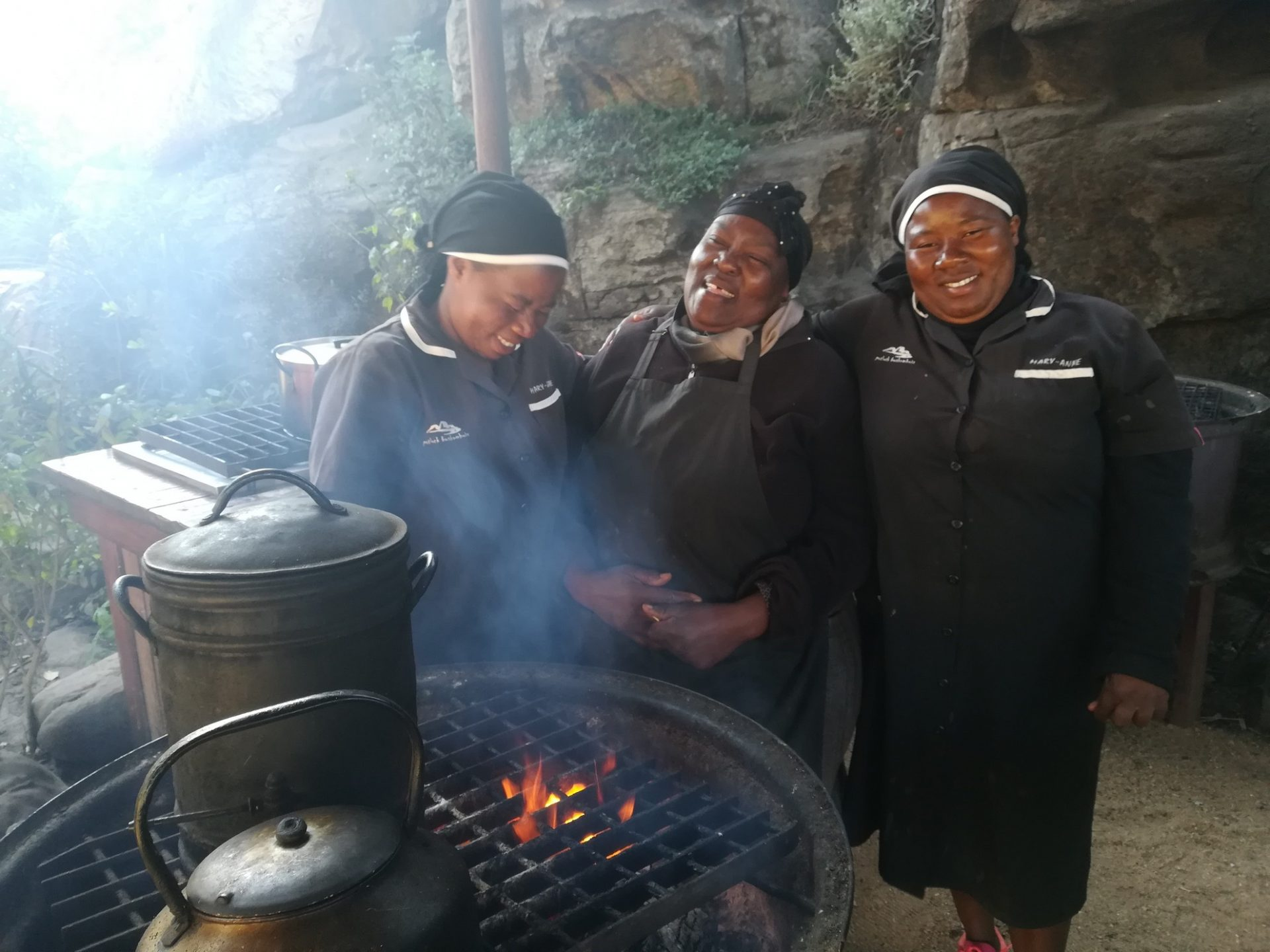 Ladies at Boskombuis